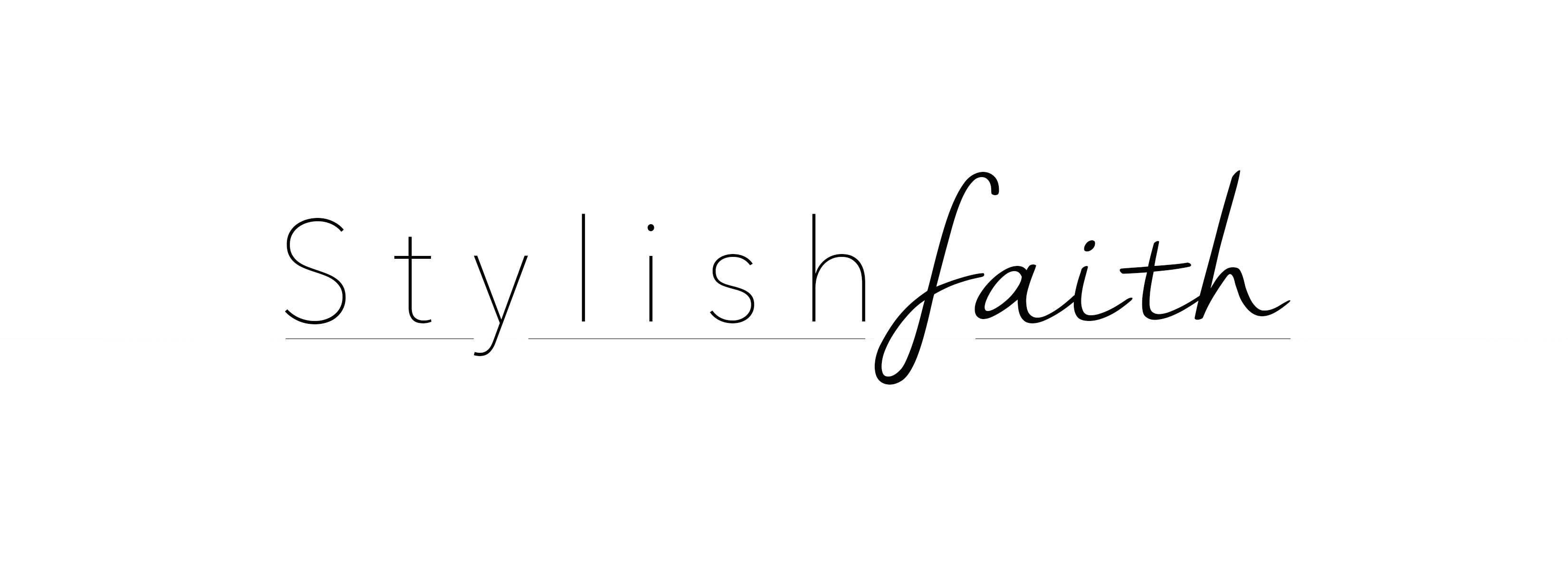 Stylish Faith -