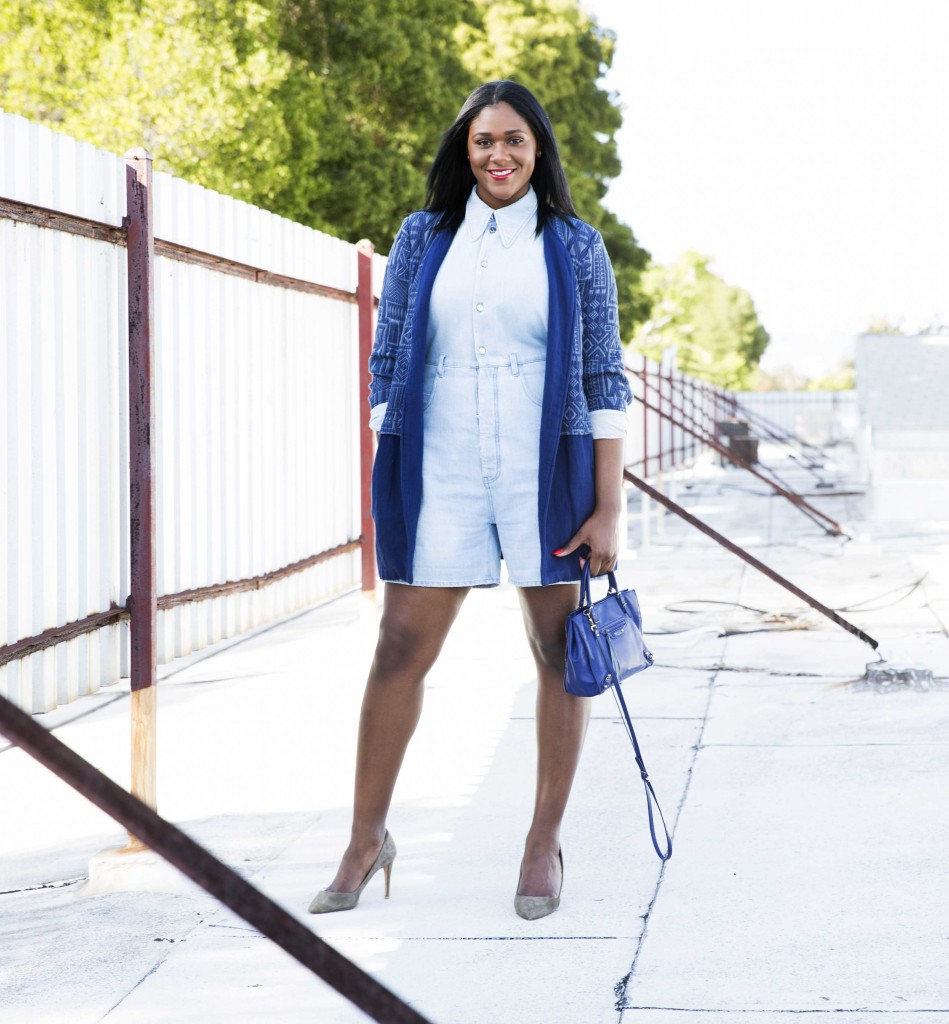 3 Ways To Wear A Denim Romper